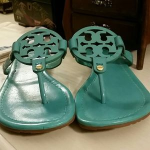 2bd5f18ce1477 Tory Burch Shoes - Tory Burch Miller in Tiffany Blue